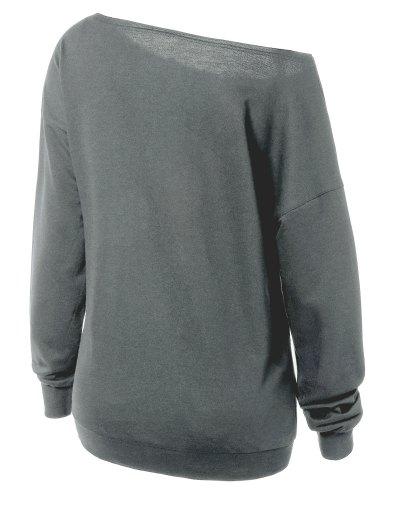Witches Halloween Sweatshirt - GRAY M Mobile