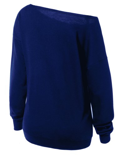 Witches Halloween Sweatshirt - BLUE L Mobile