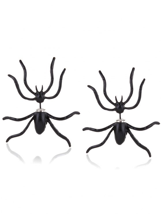 Pendientes de araña Forma - Negro