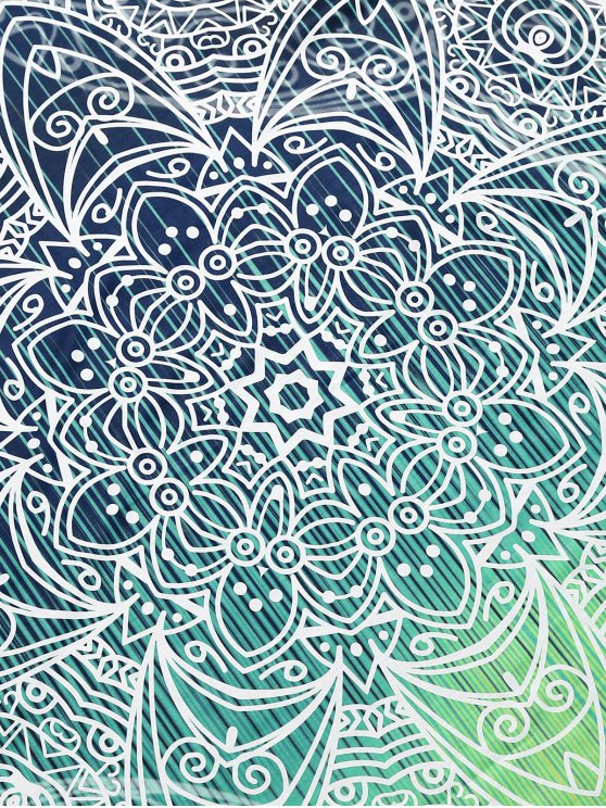 Wall Art Yoga Mat Beach Throw - COLORMIX L Mobile