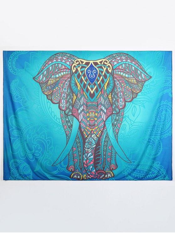 women Ethnic Elephant Beach Throw - MULTI L