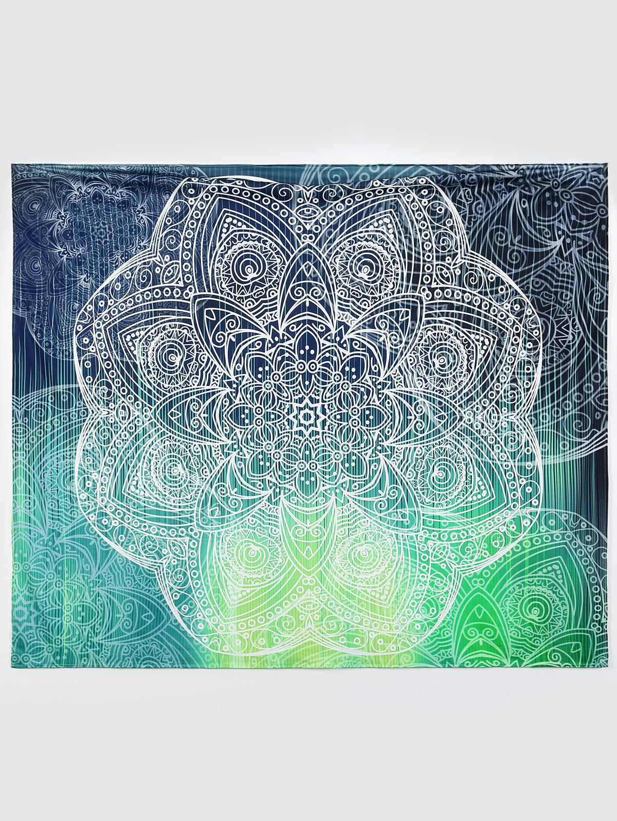 Wall Art Yoga Mat Beach ThrowSwimwear<br><br><br>Size: L<br>Color: COLORMIX