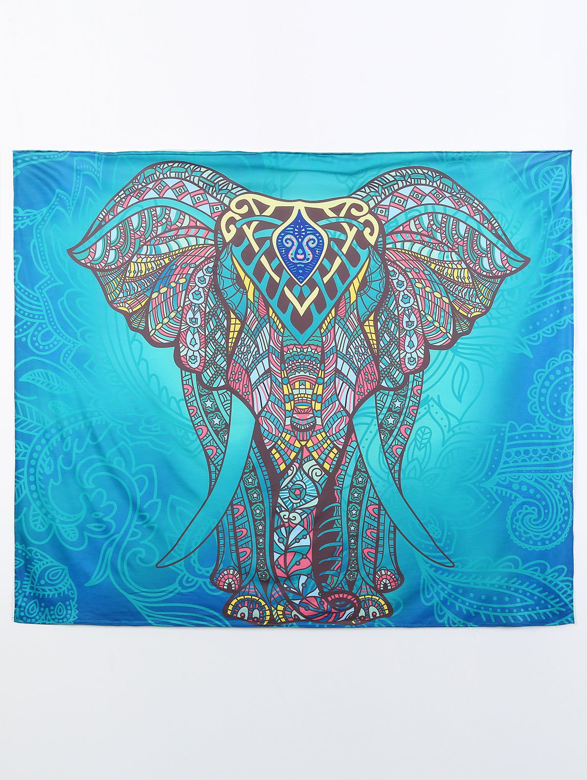 Elephant Print Beach Throw Beach Throw