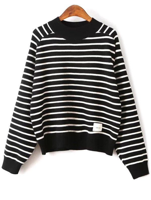 Raglan Sleeve Stripe Sweater
