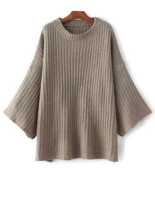 Flare Sleeve Loose Sweater