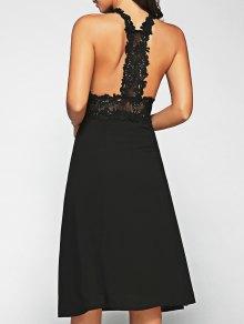 Racerback Lace Midi Dress
