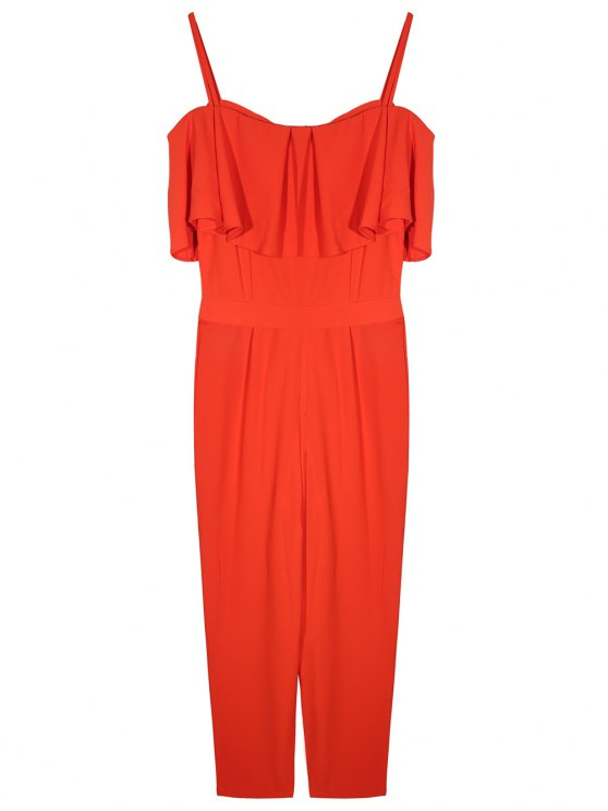 Flouncing Cami Jumpsuit - JACINTH M Mobile
