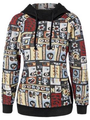 Printed Pullover Autumn Hoodie