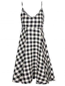 Checked Cami Dress