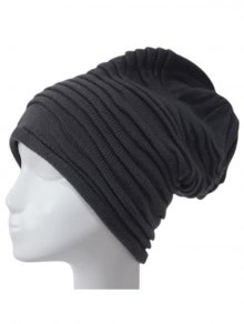Casual Ruched Knitted Hat
