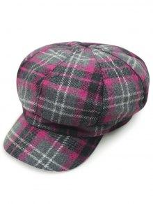 Tartan Newsboy Hat