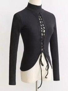 Reversible Lace Up Knitwear