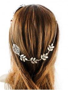 مزين أوراق الشعر التبعي - ذهبي