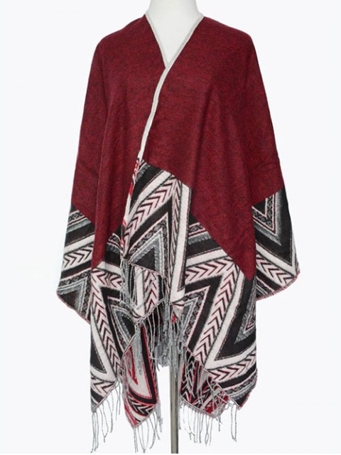outfit Arrow Direction Tassel Wrap Pashmina -   Mobile