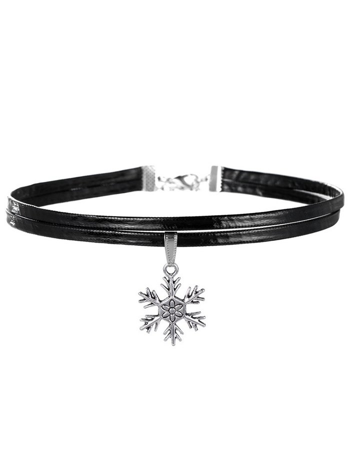 Snowflake Choker Necklace
