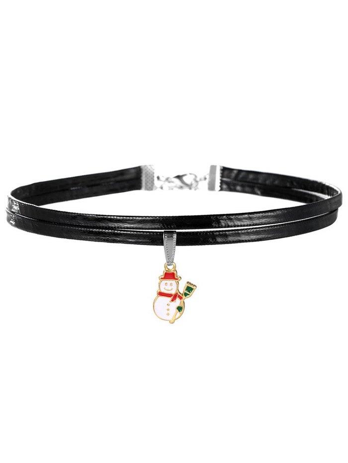 Snowman Choker Necklace