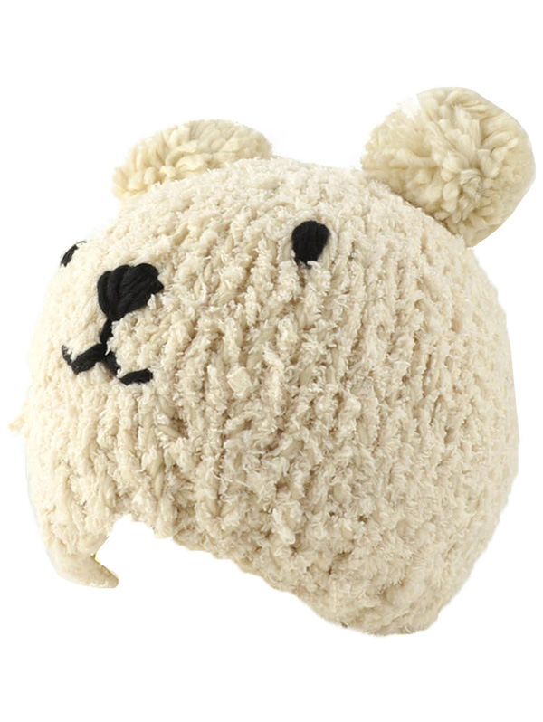 Bear Knit Hat