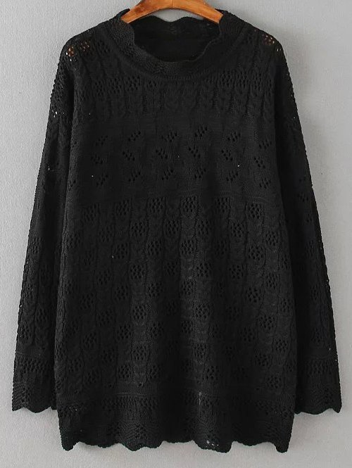 Cut Out Casual Sweater