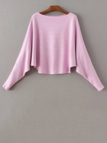 Bat-Wing Sleeve Sweater