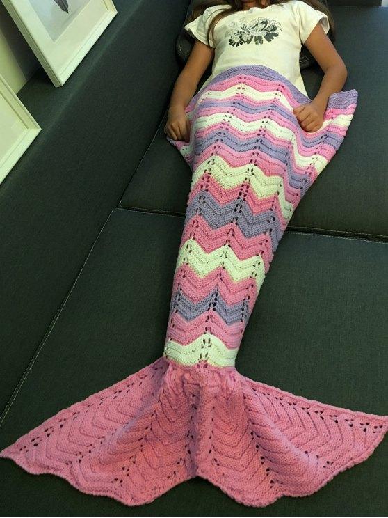Knitting Openwork Mermaid Blanket -   Mobile