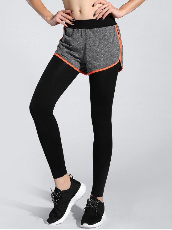 Shorts Leggings - ORANGE ONE SIZE Mobile