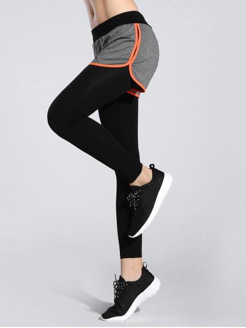 best Shorts Leggings - ORANGE ONE SIZE Mobile