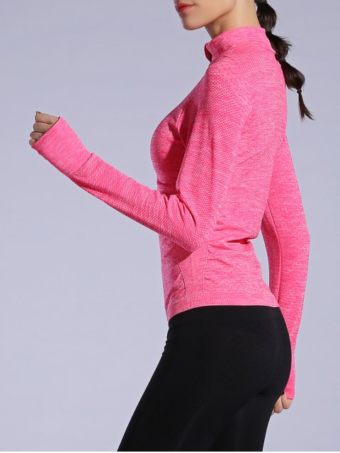 sale Glove Sleeve Breathable Sports Jacket - WATERMELON RED L Mobile