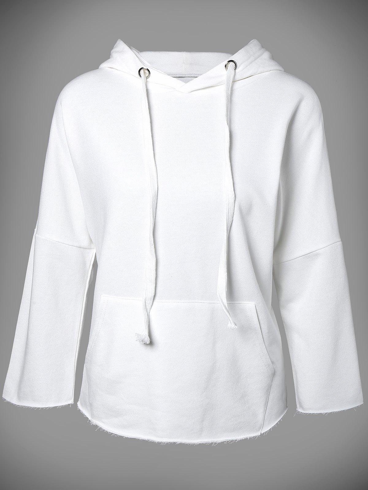 Hooded Long Sleeve Big Pocket Hoodie