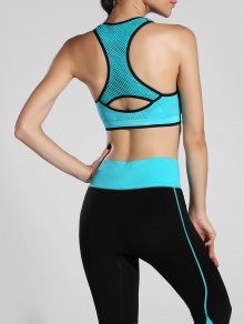 Piped Pullover Sports Bra