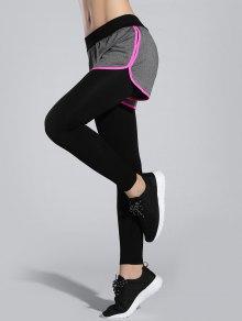 Buy Shorts Leggings - ROSE RED ONE SIZE