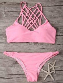 High Cut Crisscross Bikini
