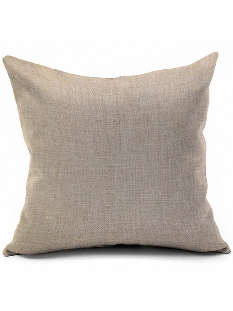 affordable Halloween Cartoon Fox Pumpkin Printed Sofa Cushion Pillow Case - COLORMIX  Mobile