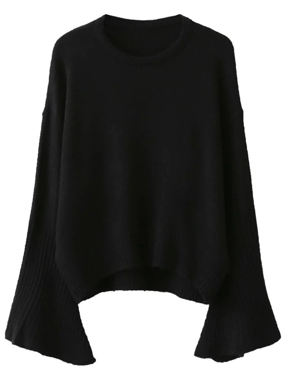 Fitting Flare Sleeve Sweater