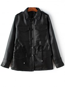 Buy String Buttoned Jacket