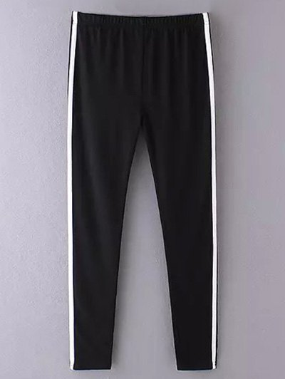 Skinny Side Stripe Running Pants