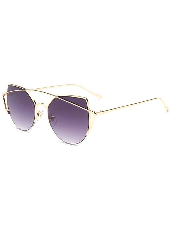 Irregular Cat Eye Sunglasses