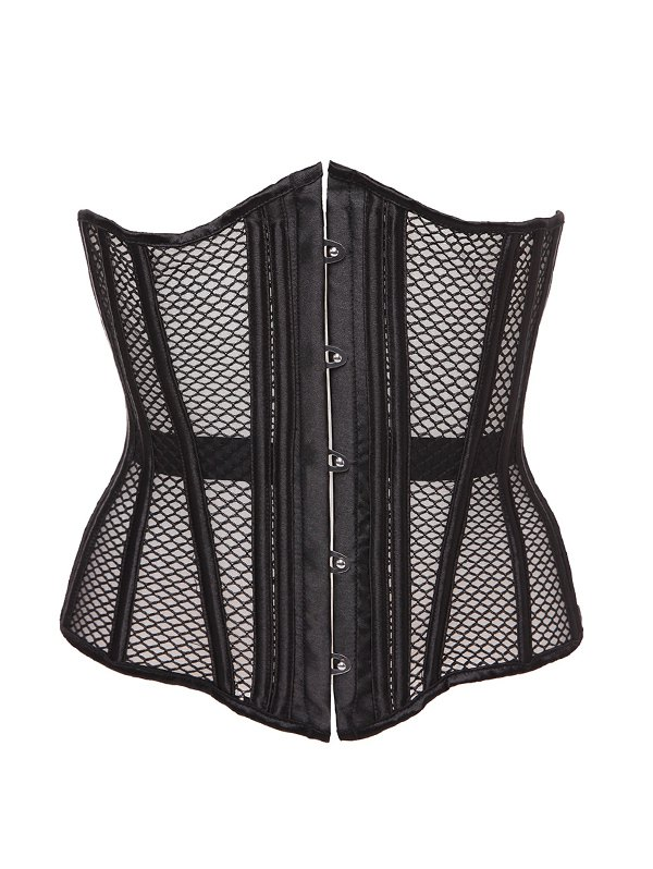 Cut Out Hook Up Corset With Panties