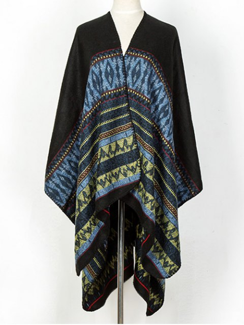 affordable Geometry Thicken Cape Pashmina -   Mobile