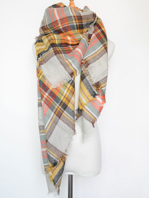 Plaid Series Scarf