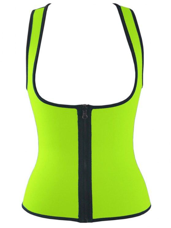 Tank Top Double Side Sport Skinny - Fluorescente Verte M