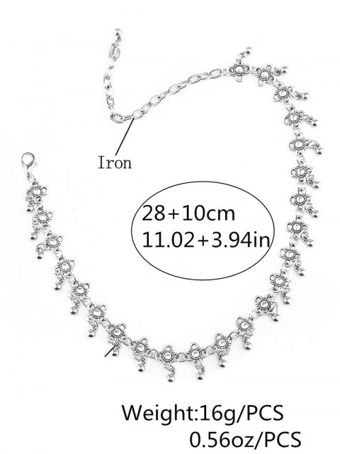 unique Chinese Knot Choker - SILVER  Mobile
