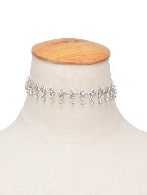 Chinese Knot Choker - Silver