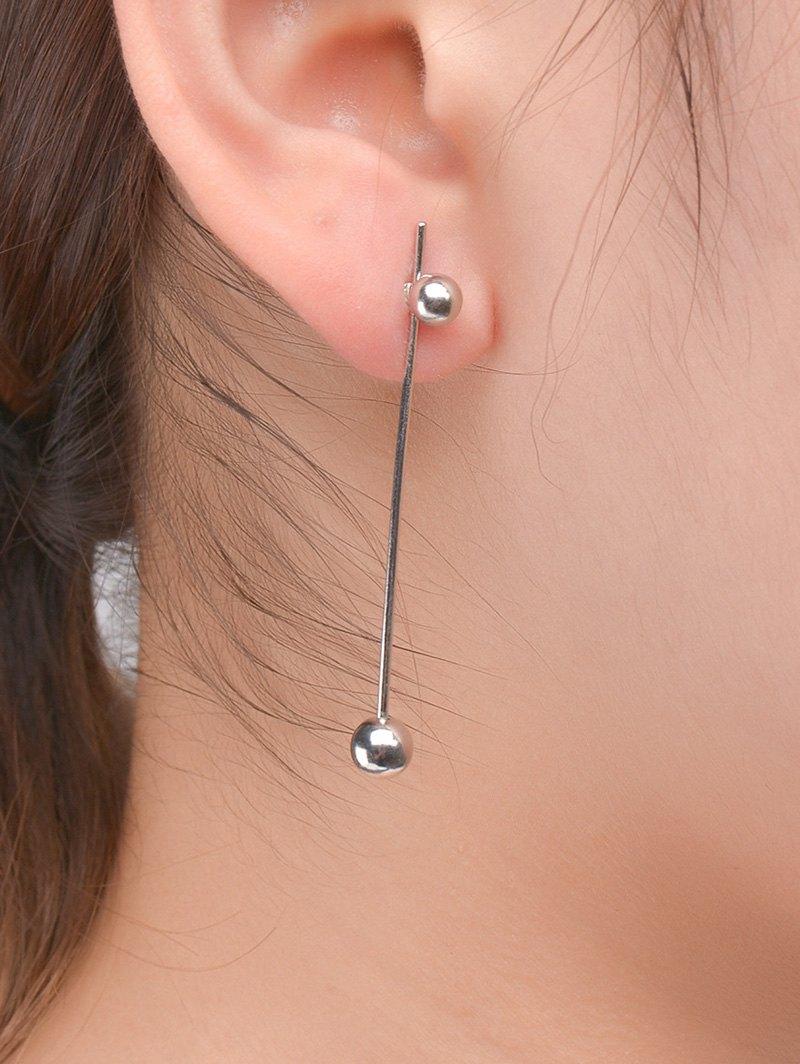 Minimalist Design Ball Earrings
