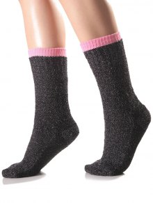 Candy Edge Knit Socks