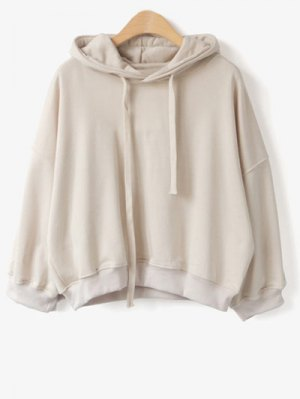 Drawstring Hoodie - Apricot