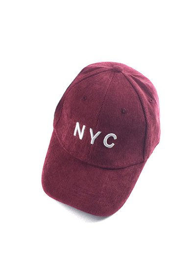 NYC Corduroy Baseball Hat