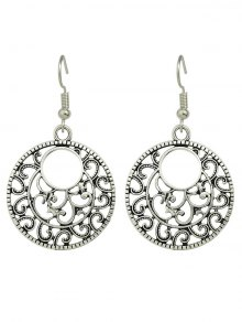 Filigree Round Earrings