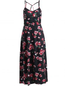 Cami Fitting Floral Print Dress