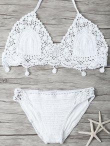Mesh Crocheted Bikini