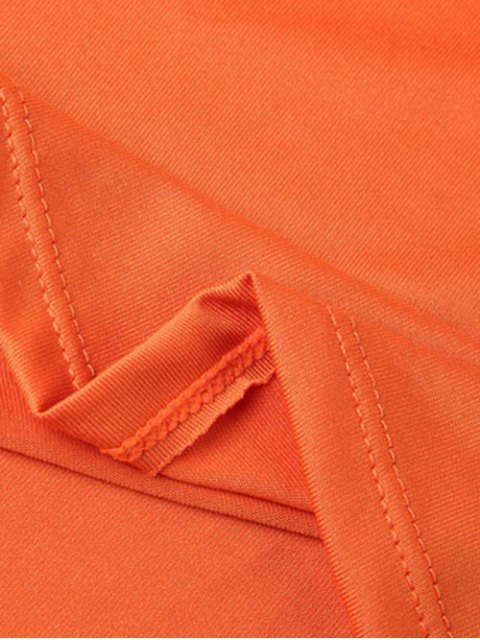 shop Lace-Up A-Line Dress - JACINTH L Mobile